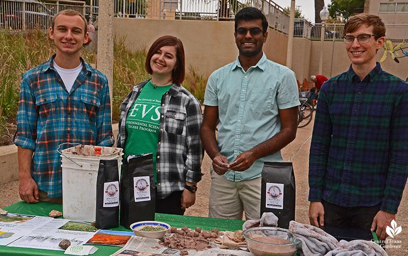Campus Environmental Center Half Pint Prairie students Central Texas Gardener