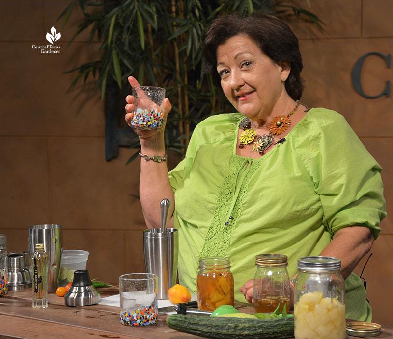 Trisha Shirey cooling herbal drinks Central Texas Gardener