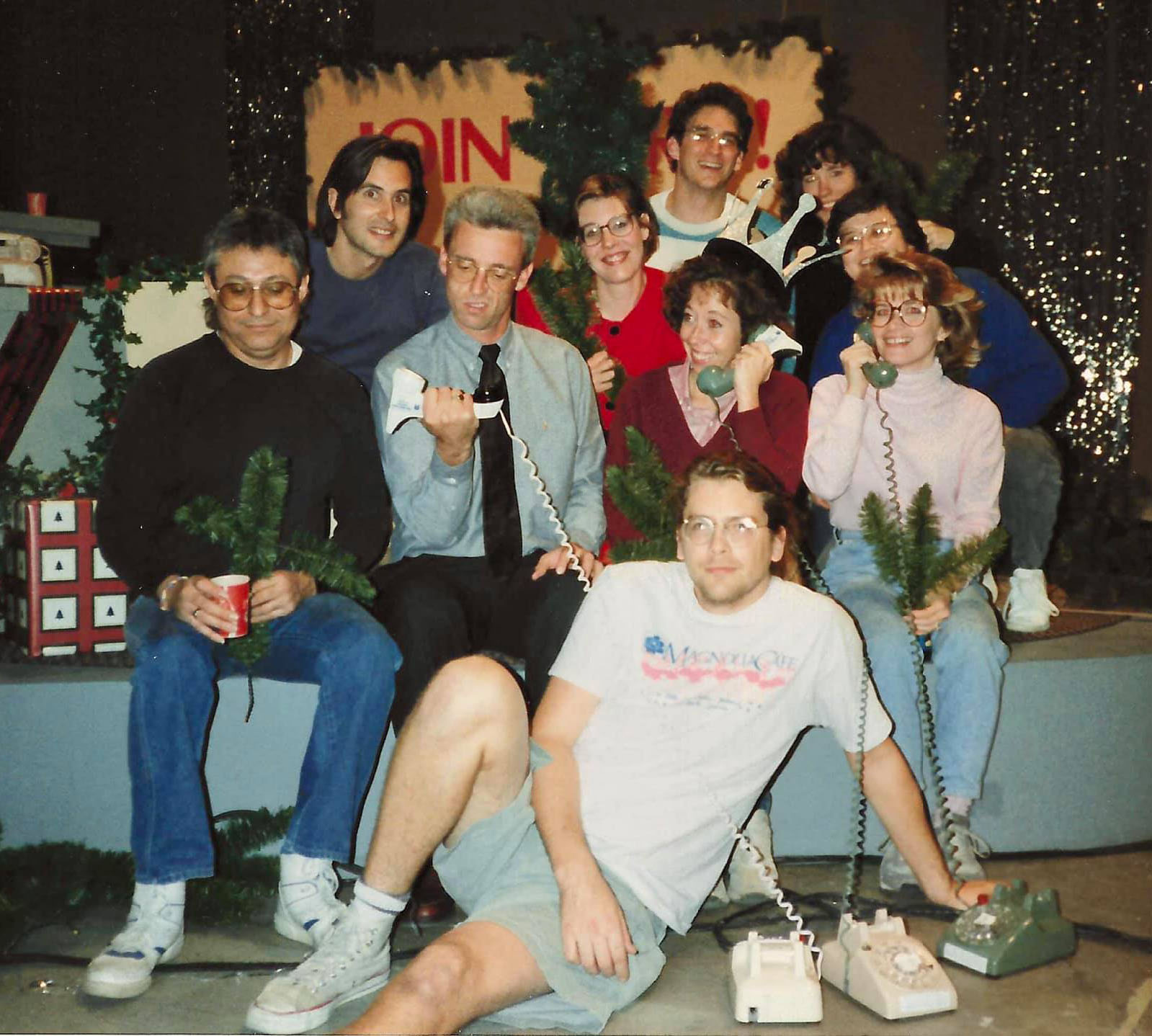KLRU pledge picture ca. 1990s