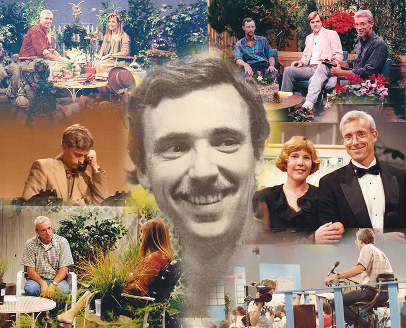 collage Tom Spencer archived pictures Austin PBS KLRU TV