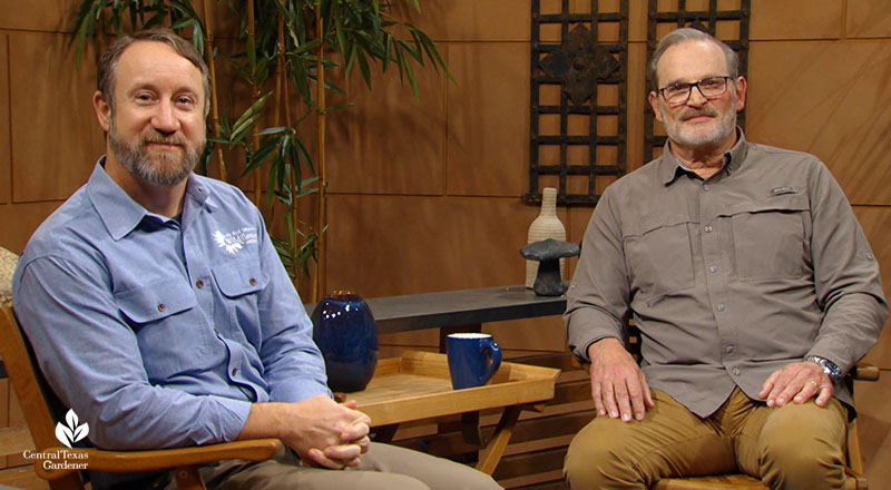 John Hart Asher and Steve Bartholomew Square Foot Gardening Foundation Central Texas Gardener