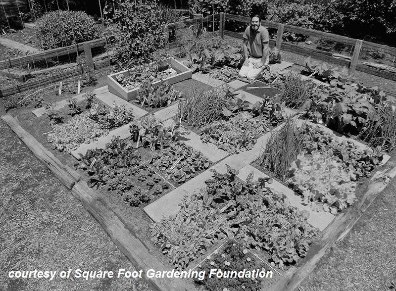 Mel Bartholomew original square foot garden