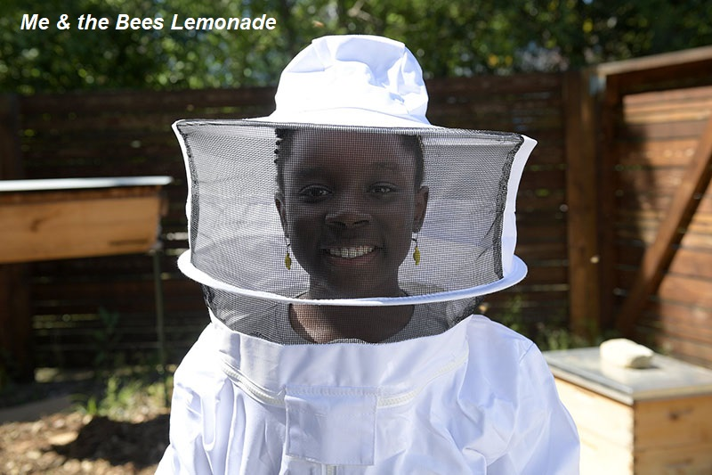 Mikaila Ulmer Me & the Bees Lemonade bee suit Central Texas Gardener