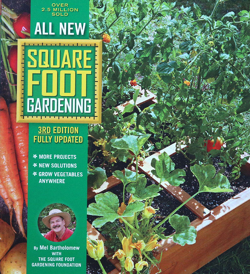 Square Foot Gardening book Mel Bartholomew