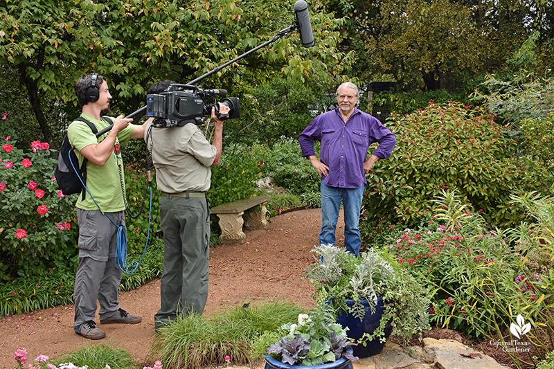 John Dromgoole The Natural Gardener with Central Texas Gardener Ed Fuentes and Mark Morrow
