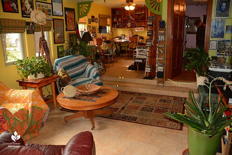 John and Jane Dromgoole home art and music studio Central Texas Gardener