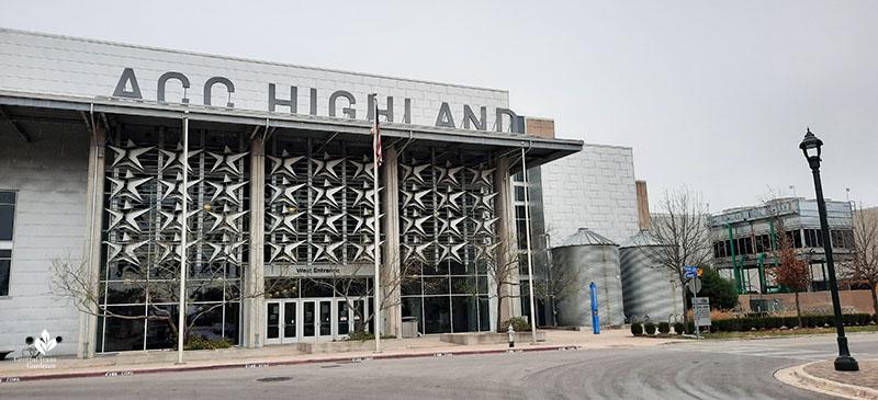 ACC Highland campus entrance Central Texas Gardener