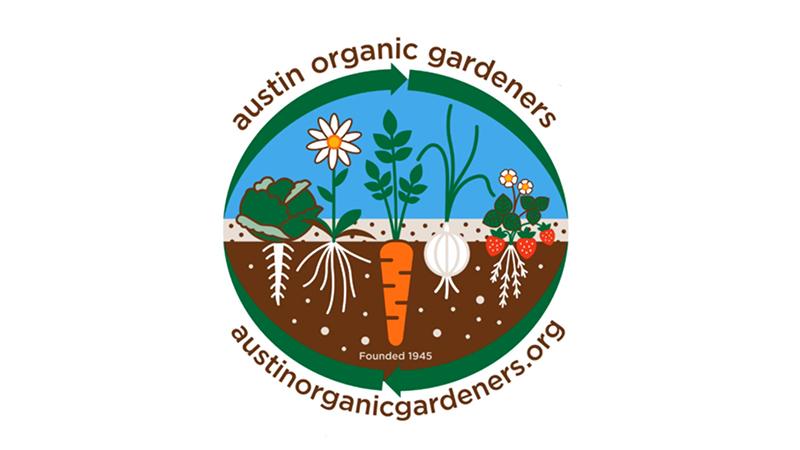 Austin Organic Gardeners logo Central Texas Gardener