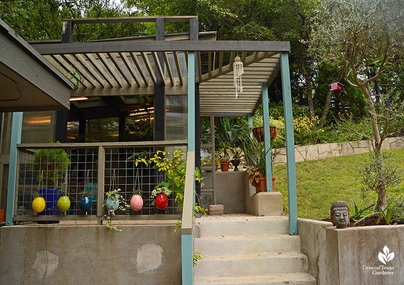 contemporary small greenhouse design Harper Duhon Central Texas Gardener