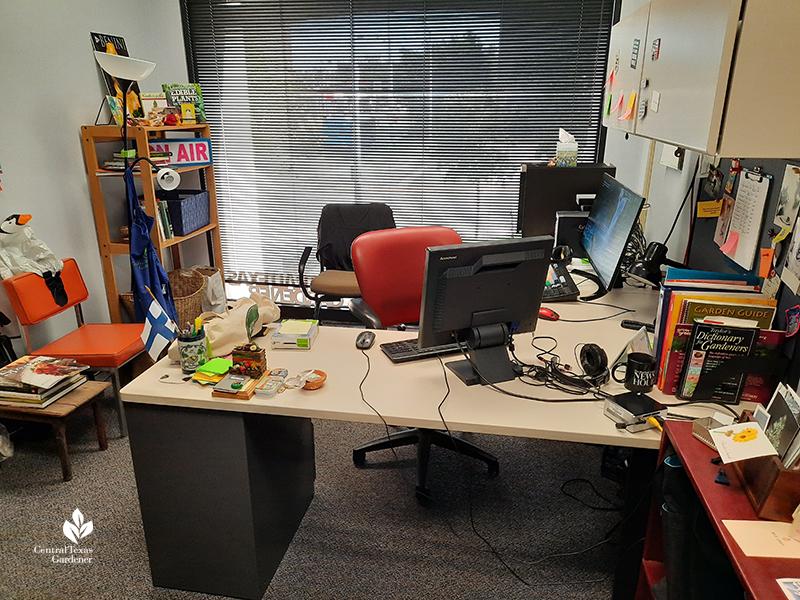 Austin PBS Linda CTG office 2020 Central Texas Gardener