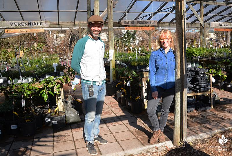 William Glenn Amy and Hovis Barton Springs Nursery Central Texas Gardener