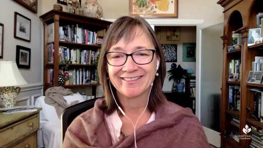 Jennifer Jewell Cultivating Place conversation via Zoom with Linda Lehmusvirta Central Texas Gardener