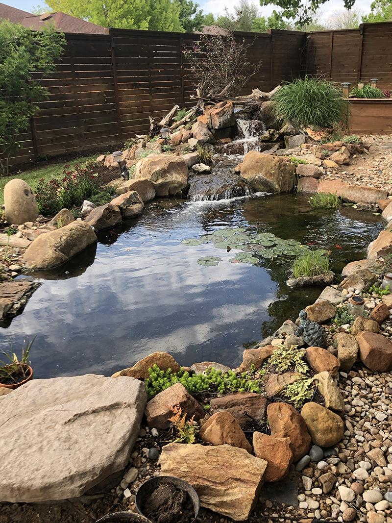 Mark and Cindy_Vickers pond Austin Pond Society