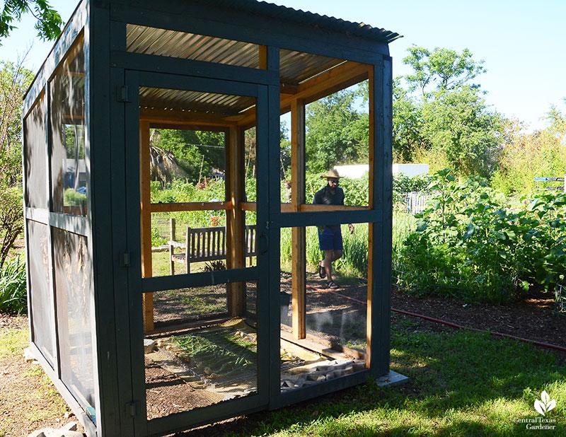 shade house for drying Este Garden
